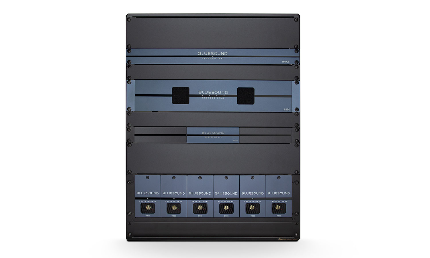 rack mounted streaming players