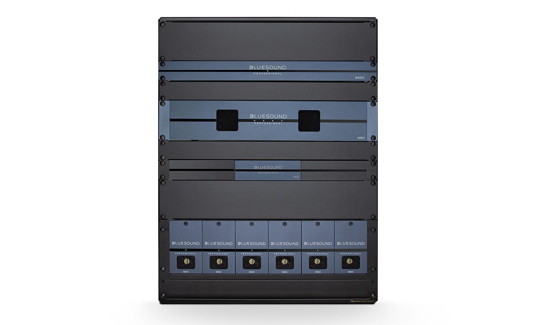 reproductores de streaming montados en rack